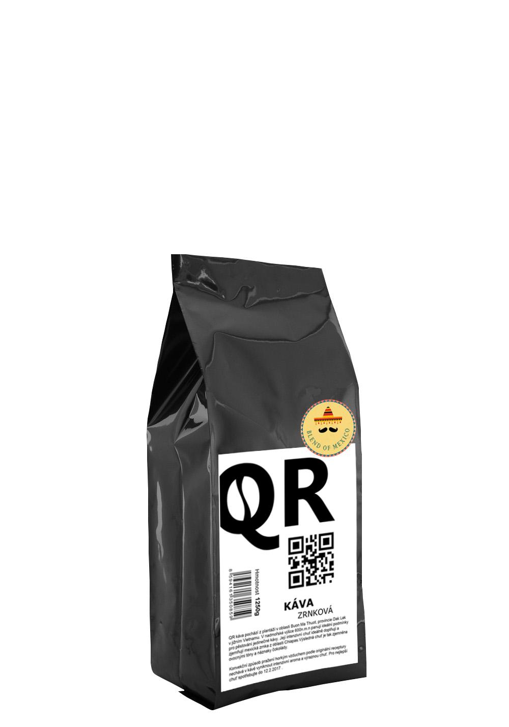 """QR káva """"Mexický blend"""" 1250g"""