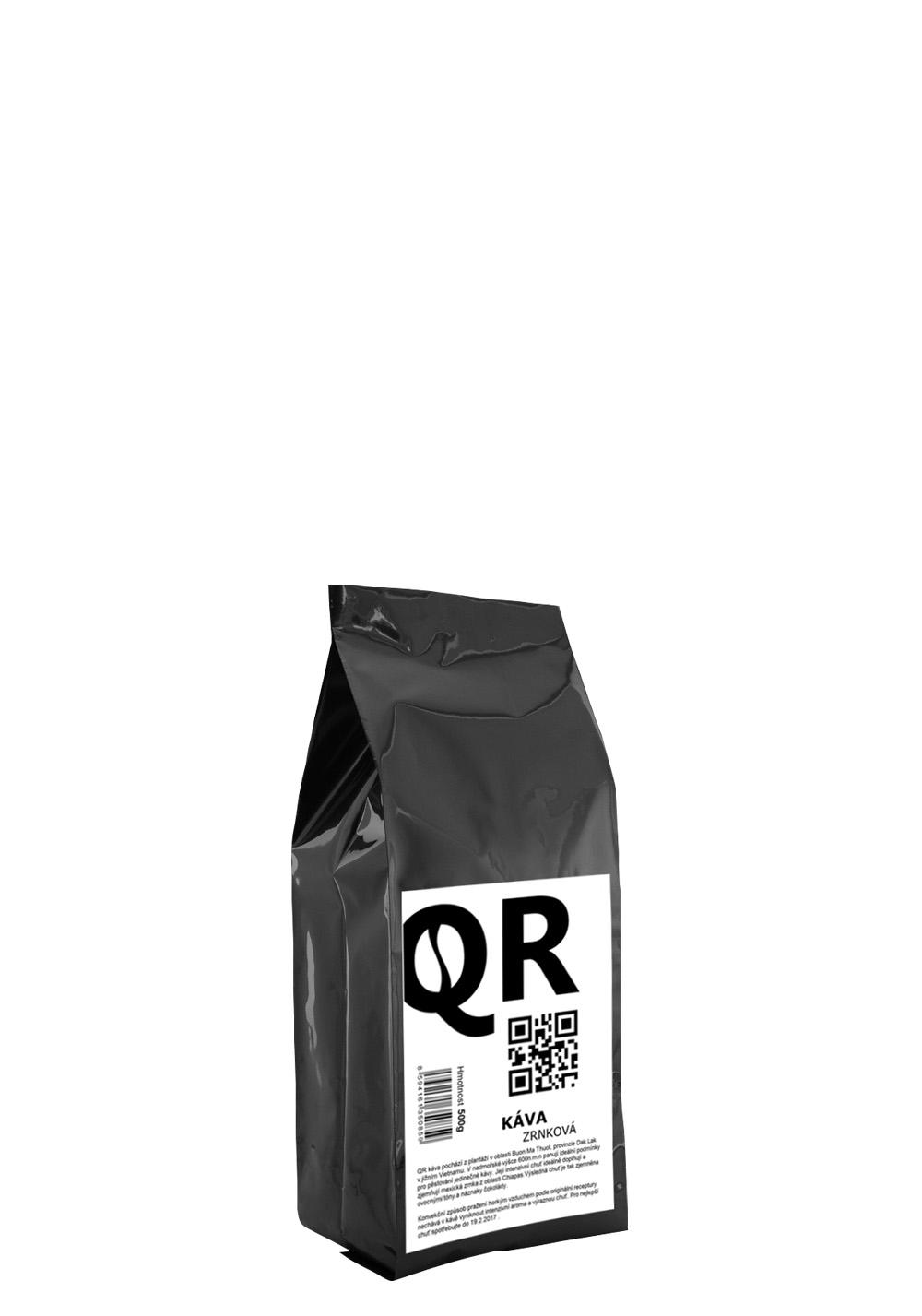 QR káva 500g
