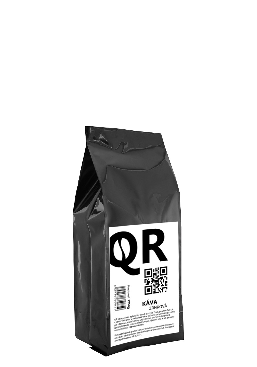 QR káva 1250g
